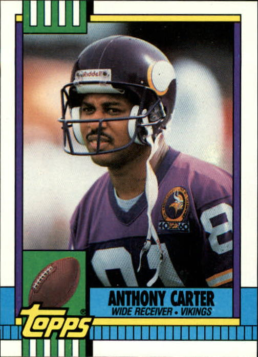 1990 Topps #115 Anthony Carter