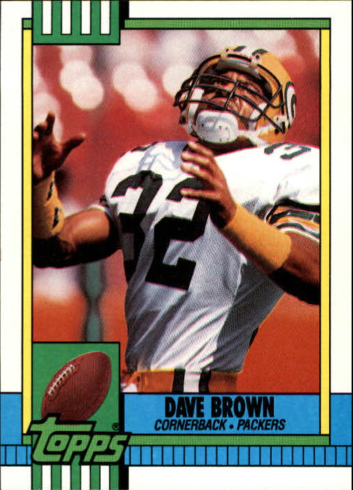 1990 Topps #150 Dave Brown DB
