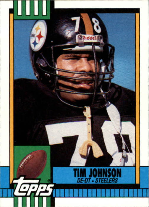 1990 Topps #176 Tim Johnson front image