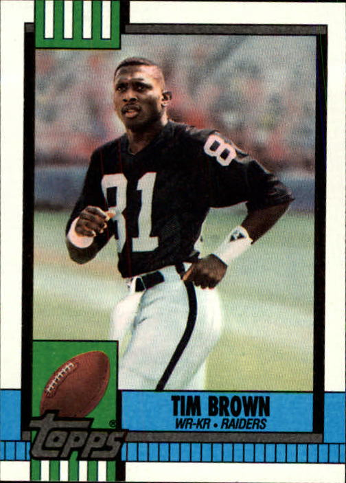 1990 Topps #295 Tim Brown