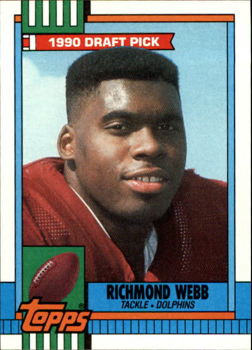 1990 Topps #316 Richmond Webb RC