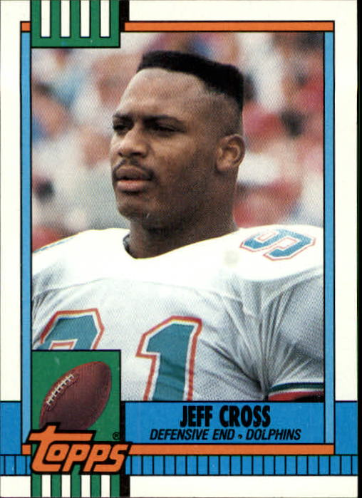 1990 Topps #317 Jeff Cross