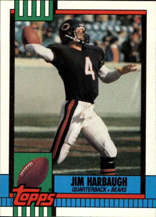 1990 Topps #366 Jim Harbaugh