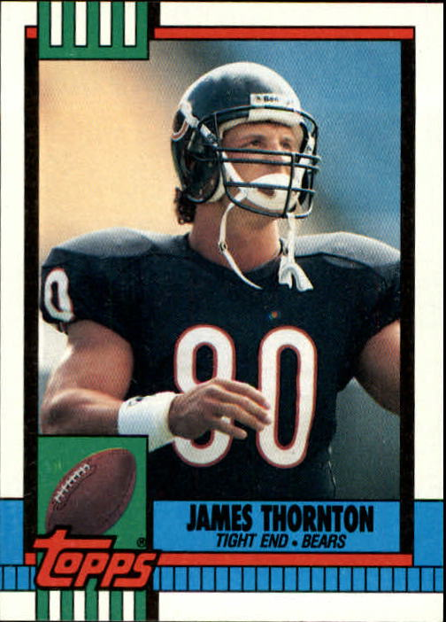 1990 Topps #374 James Thornton