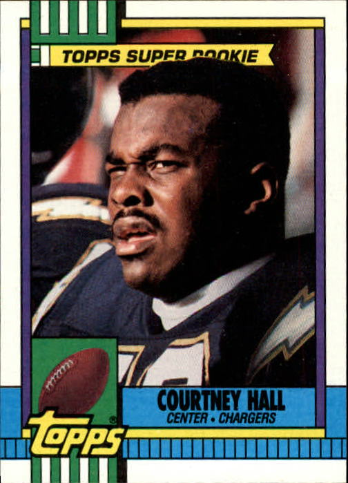1990 Topps #388 Courtney Hall