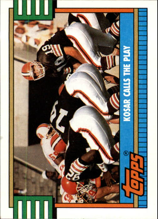 1990 Topps #505A Browns Team