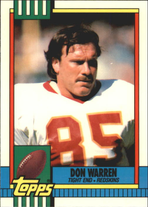 1990 Topps Tiffany #132 Don Warren