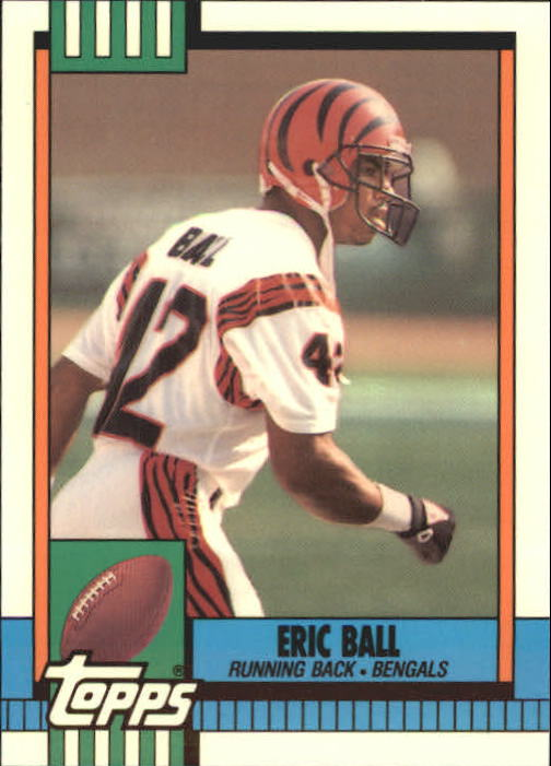 1990 Topps Tiffany #266 Eric Ball