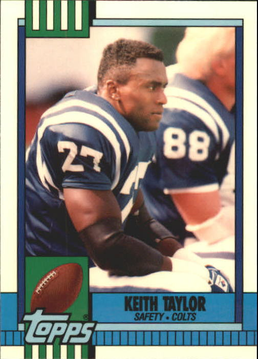 1990 Topps Tiffany #302 Keith Taylor