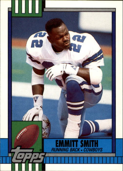 1990 Topps Traded #27T Emmitt Smith RC