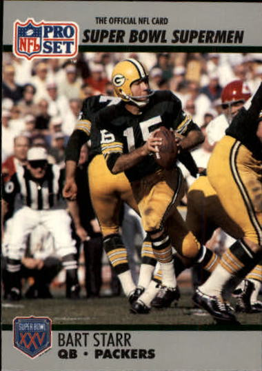 1990-91 Pro Set Super Bowl 160 #36 Bart Starr front image