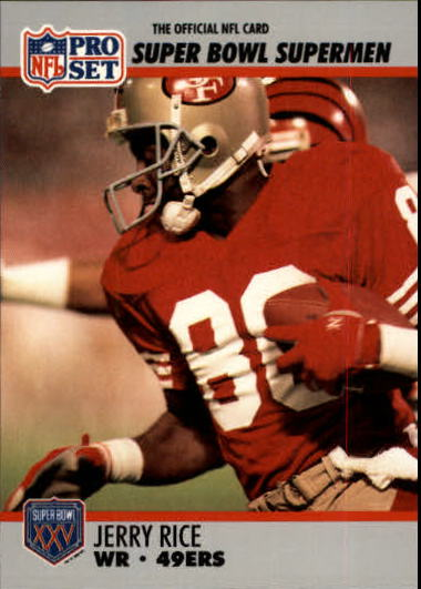 1990-91 Pro Set Super Bowl 160 #48 Jerry Rice