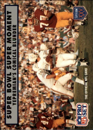 1990-91 Pro Set Super Bowl 160 #141 Garo Yepremian
