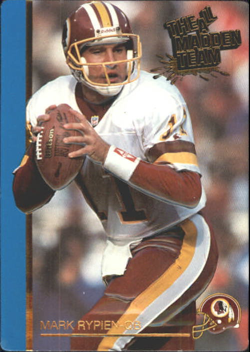 1991 Action Packed All-Madden #1 Mark Rypien