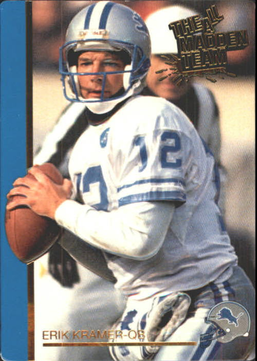 1991 Action Packed All-Madden #2 Erik Kramer