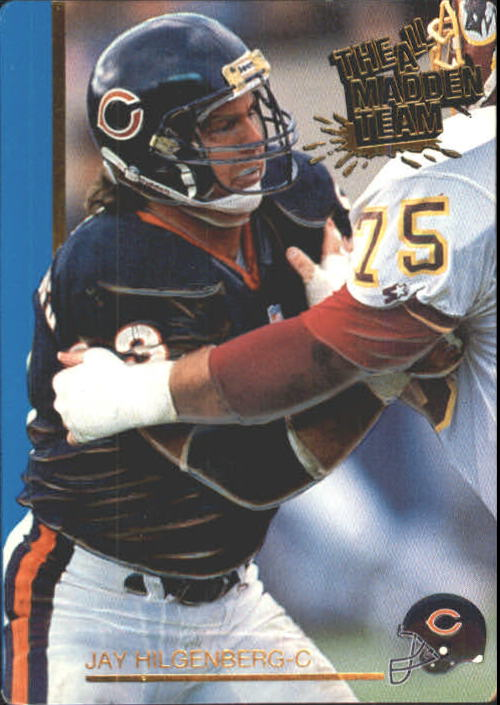 1991 Action Packed All-Madden #5 Jay Hilgenberg