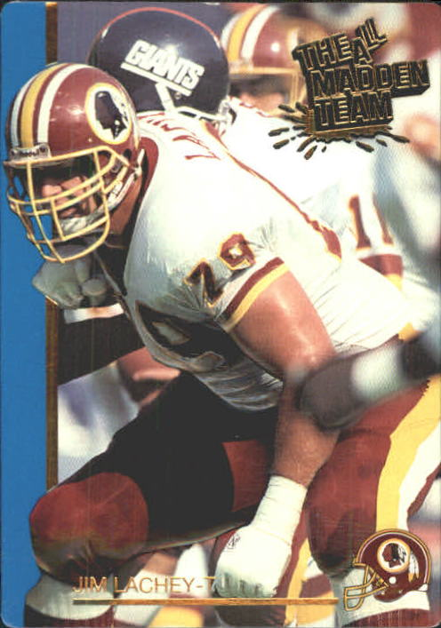1991 Action Packed All-Madden #10 Jim Lachey