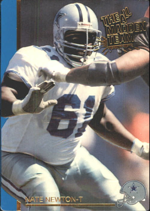 1991 Action Packed All-Madden #12 Nate Newton