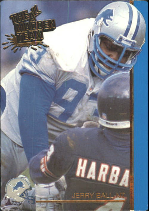 1991 Action Packed All-Madden #14 Jerry Ball