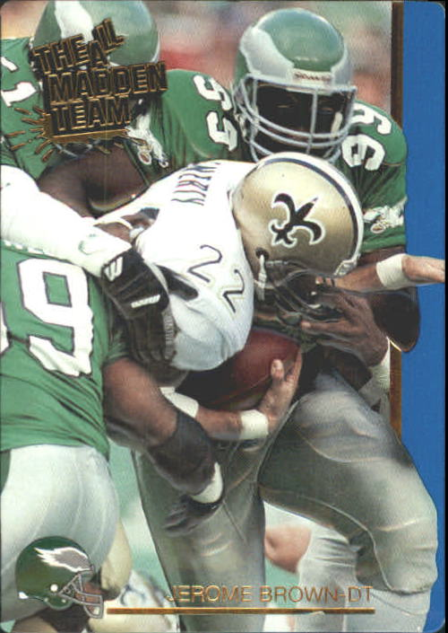 1991 Action Packed All-Madden #15 Jerome Brown