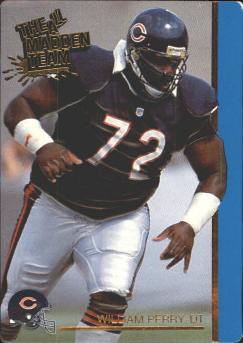 1991 Action Packed All-Madden #16 William Perry