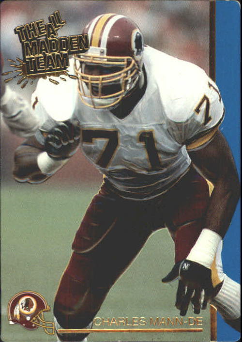 1991 Action Packed All-Madden #17 Charles Mann