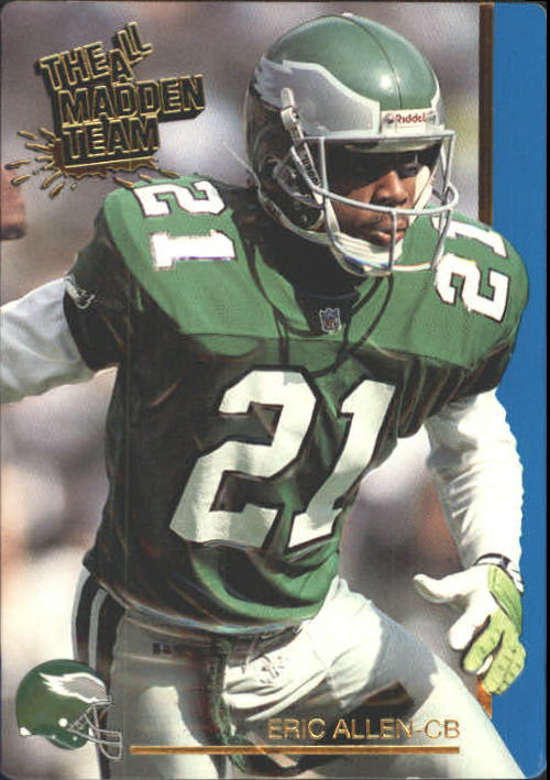 1991 Action Packed All-Madden #20 Eric Allen