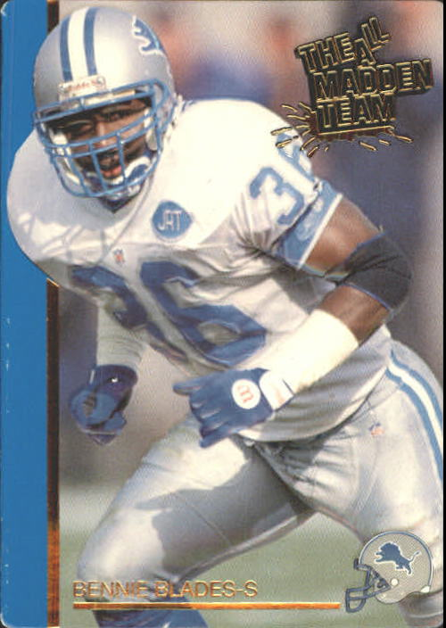 1991 Action Packed All-Madden #22 Bennie Blades