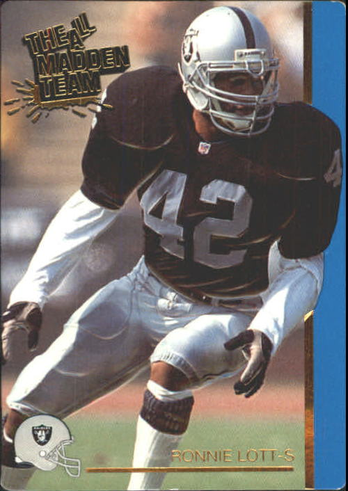 1991 Action Packed All-Madden #26 Ronnie Lott