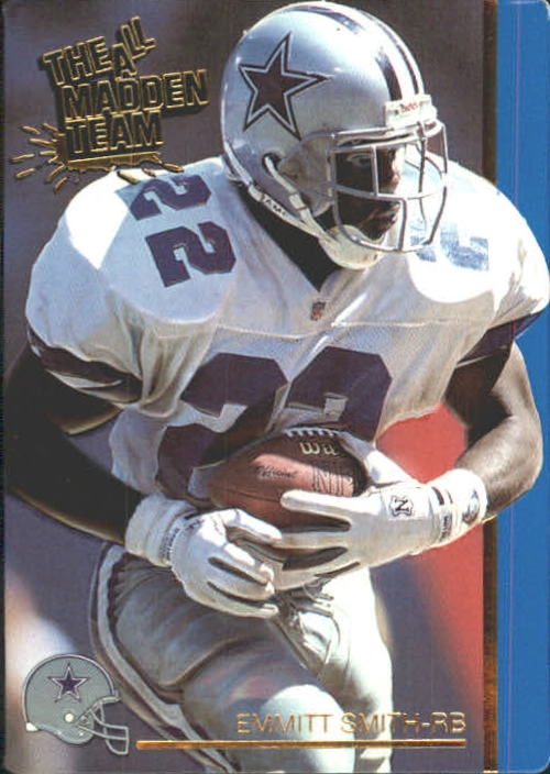 1991 Action Packed All-Madden #27 Emmitt Smith