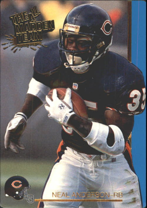 1991 Action Packed All-Madden #28 Neal Anderson