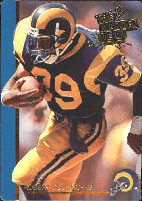 1991 Action Packed All-Madden #29 Robert Delpino