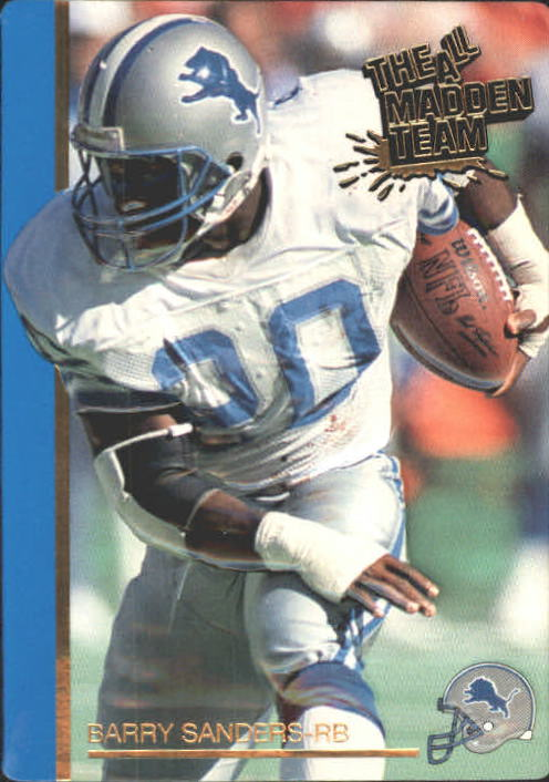 1991 Action Packed All-Madden #30 Barry Sanders