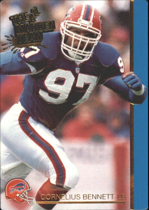 1991 Action Packed All-Madden #32 Cornelius Bennett