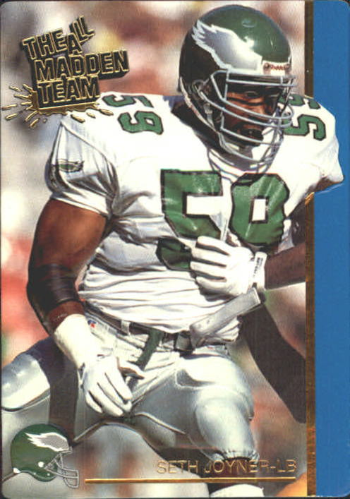 1991 Action Packed All-Madden #34 Seth Joyner