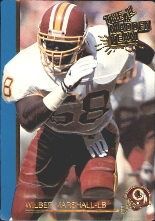 1991 Action Packed All-Madden #35 Wilber Marshall