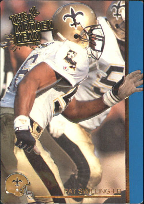 1991 Action Packed All-Madden #38 Pat Swilling