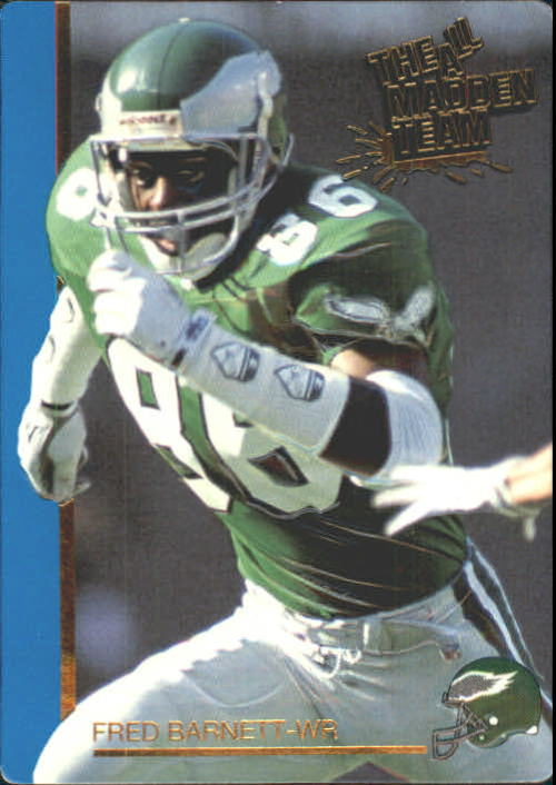 1991 Action Packed All-Madden #39 Fred Barnett
