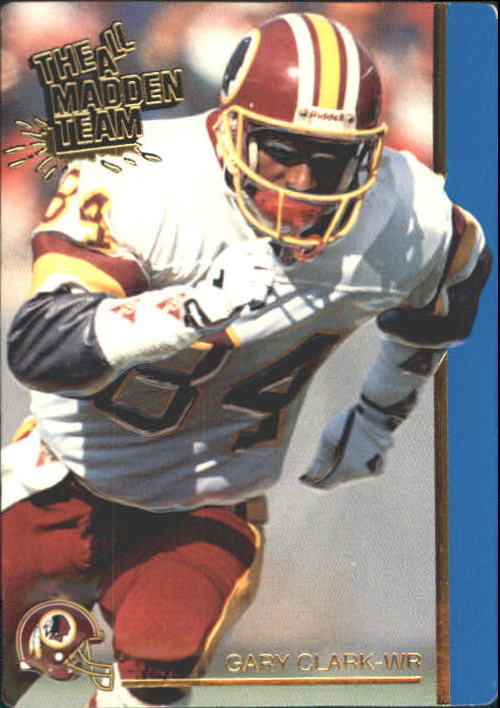 1991 Action Packed All-Madden #40 Gary Clark