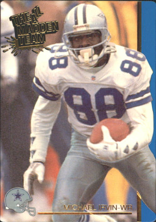 1991 Action Packed All-Madden #41 Michael Irvin