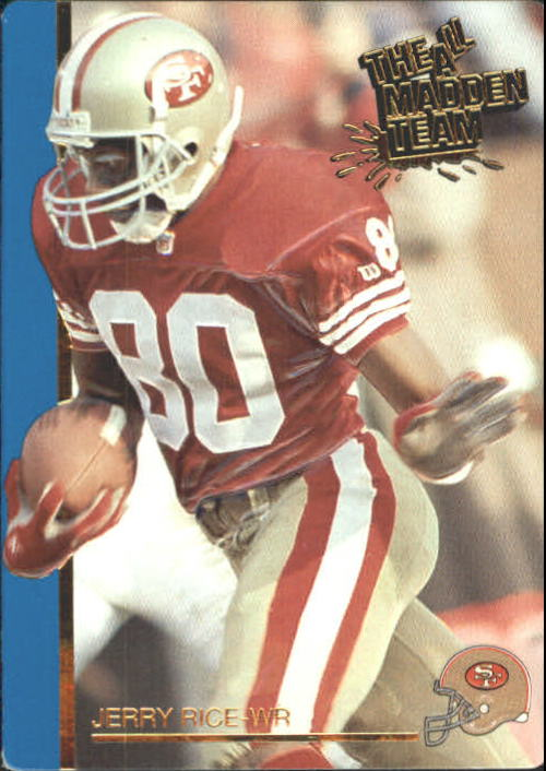 1991 Action Packed All-Madden #43 Jerry Rice
