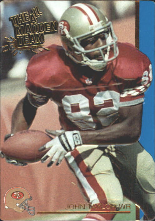 1991 Action Packed All-Madden #44 John Taylor