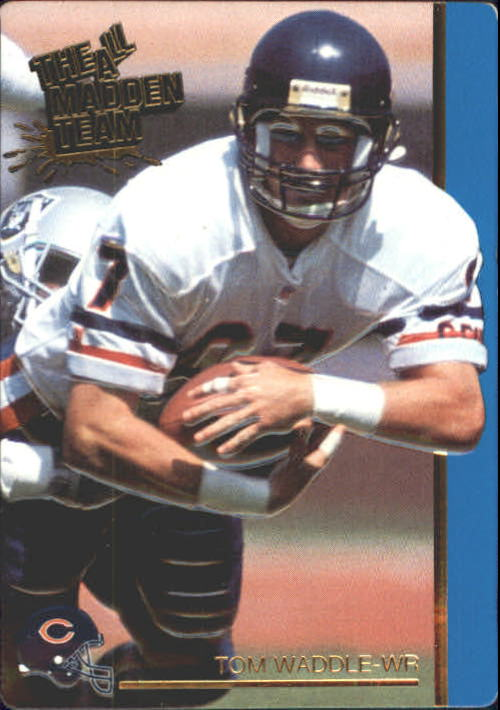 1991 Action Packed All-Madden #45 Tom Waddle