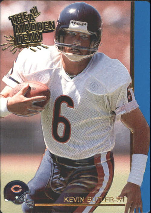 1991 Action Packed All-Madden #46 Kevin Butler