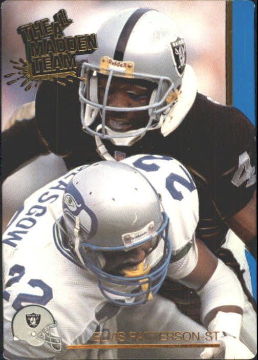1991 Action Packed All-Madden #49 Elvis Patterson
