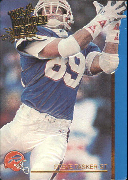 1991 Action Packed All-Madden #50 Steve Tasker