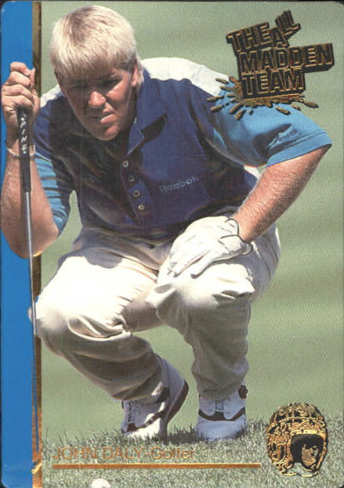 1991 Action Packed All-Madden #51 John Daly