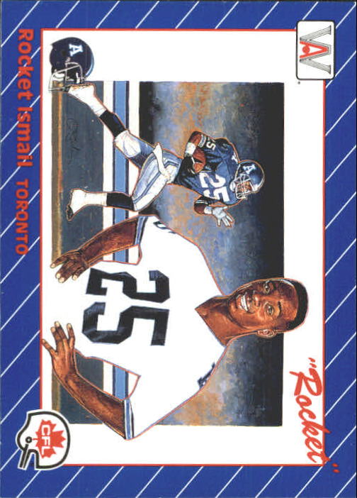 1991 All World CFL #1 Rocket Ismail