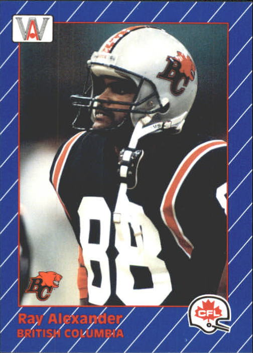 1991 All World CFL #3 Ray Alexander
