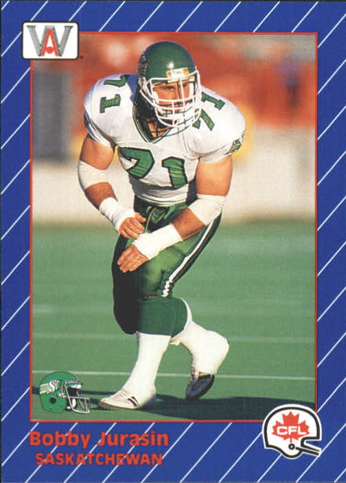 1991 All World CFL #5 Bobby Jurasin